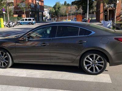 brugt Mazda 6 M6 W. 2.2DE Lux.+Prem.Black+Travel+SR(Navi)Aut. 129kW