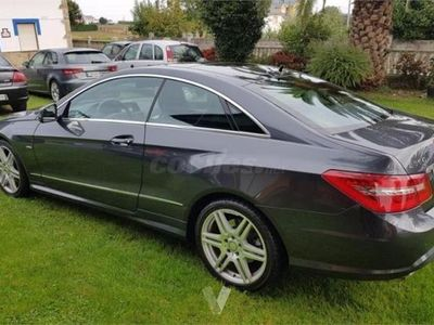 usado Mercedes E350 Clase E CoupeCdi Blue Efficiency Elegance 2p. -13