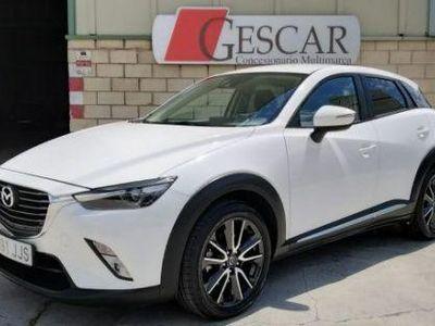 usado Mazda CX-3 1.5D Luxury Pack White 2WD