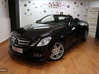 usado Mercedes E350 Cabrio CDI BE Aut. AMG PACK