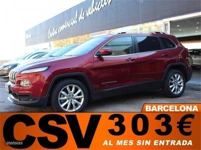 usado Jeep Cherokee CRD **CUERO, 303€/MES**