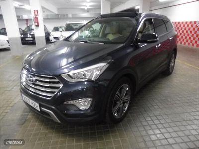 usado Hyundai Santa Fe 2.2CRDi 4x4 Style Aut. 7s 197CV 7PLAZAS NAVI