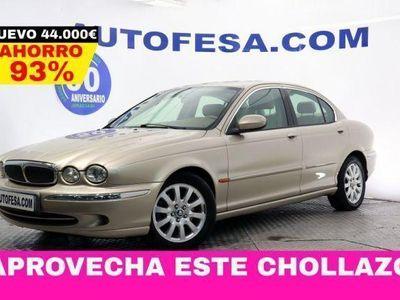 usado Jaguar X-type 2.5 V6 196cv Executive 4p Auto # CUERO,LIBRO REVIS