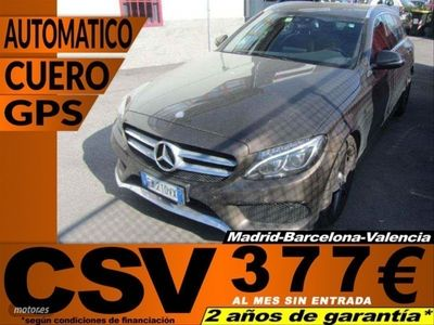usado Mercedes C220 Clase Cd AMG Line Estate
