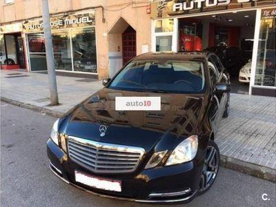 usado Mercedes E250 250CDI BE Avantgarde OCASION LIBRO IMPECABLE