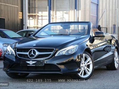 usado Mercedes E220 Clase E CabrioBlueTEC