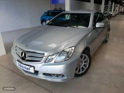 brugt Mercedes E220 Clase E CoupeCDI Blue Efficiency Avantg.