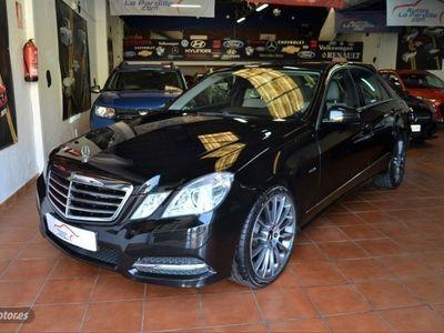 usado Mercedes E220 Clase ECDI Blue Efficiency Elegance