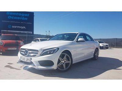 usado Mercedes C220 Clase C 220d, 06/2016, 23700kms. PVP 32900€.