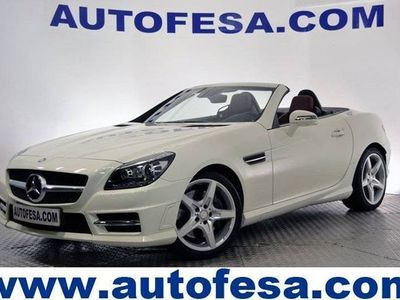 usado Mercedes 200 Clase SLK CLASEBE 184 2P PACK AMG 7G-T AUTO # NAVY,