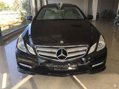 usado Mercedes E250 Clase E CoupeCdi Blue Efficiency Avantg. 2p. -12