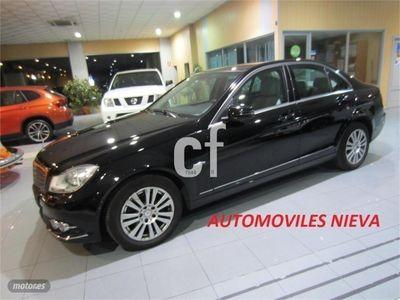 usado Mercedes C220 Clase CCDI Blue Efficiency Avantgarde