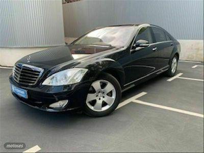 usado Mercedes S500L Clase S4MATIC
