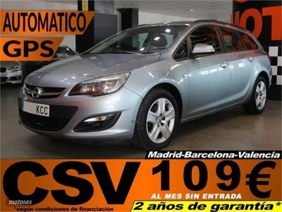 used Opel Astra S.T 2.0 CDTi Excellence Auto 121 kW (165 CV)