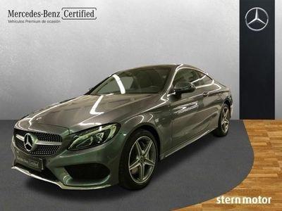 usado Mercedes C250 d Coupe 204 CV AMG-LINE