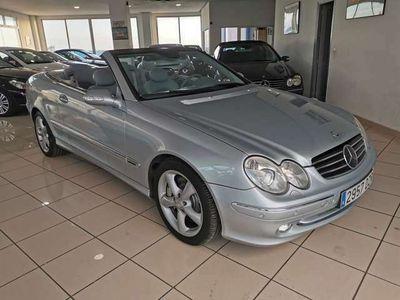 usado Mercedes CLK500 Clase Cabrio