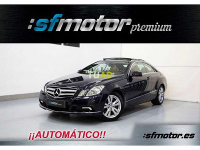 usado Mercedes 350 Clase E CoupéCDI BlueEfficiency Avantgarde Auto 231cv