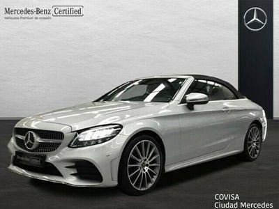 usado Mercedes C220 Cabrio AMG Line (EURO 6d-TEMP)