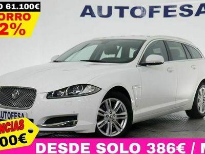 usado Jaguar XF Sportbrake 2.2D 200cv Premium Luxury 5p Auto # CUERO, BARRAS, CAMARA, LEVAS