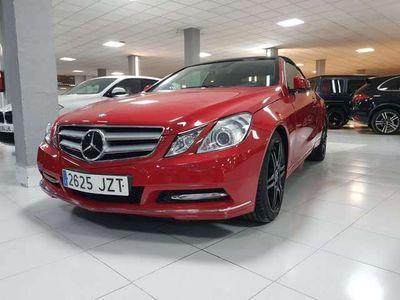 usado Mercedes E220 CDI Cabrio BE Aut.(9.75)