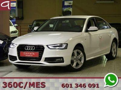 "usado Audi A4 2.0TDI S line edition Mult. 150CV ""MMI NAVEGACION"""