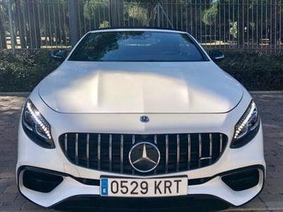 usado Mercedes S63 AMG AMG Clase Cabrio A217 Cabrio 4Matic Aut.