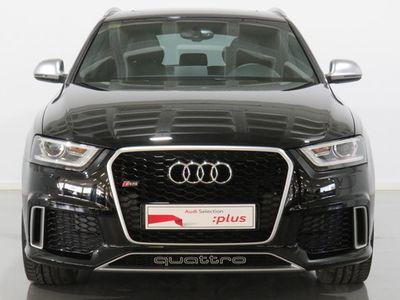 usado Audi RS Q3 2.5 TFSI quattro 228 kW (310 CV) S tronic Gasolina Negro matriculado el 10/2014