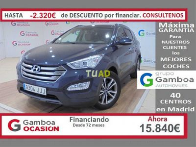 usado Hyundai Santa Fe CRDI 2.2 4X2 AT Tecno 7S Aut.