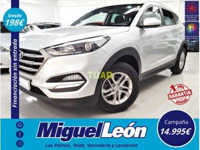 usado Hyundai Tucson 1.7 CRDi 85KW 115CV BlueDrive Tecno 4x2