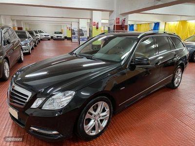 usado Mercedes E250 Clase ECDI BE Avantgarde Estate