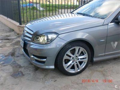 usado Mercedes C220 Clase CCdi Blue Efficiency Estate 5p. -11