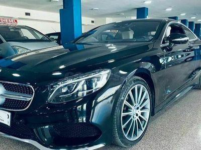 usado Mercedes 500 Clase S Coupé4M Aut.