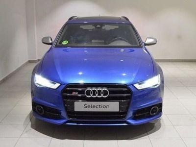 usado Audi S6 Avant 4.0 TFSI quattro 331 kW (450 CV) S tronic Gasolina Azul matriculado el 05/2016