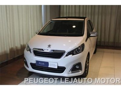usado Peugeot 108 top allure 1.2 puretech 82 5p.