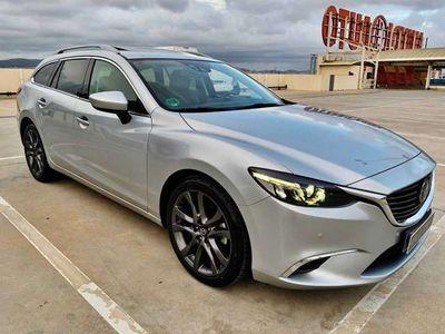 usado Mazda 6 M6 W. 2.2DE Lux.+Prem.White+Travel+SR(Navi)Aut. 4WD 129kW