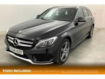 usado Mercedes 170 Clase C Estate 220d Bluetec7G-Tronic Plus AMG