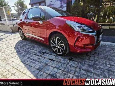 usado DS Automobiles DS3 PureTech 81kW (110CV) EAT6 Be, Km0, Valencia