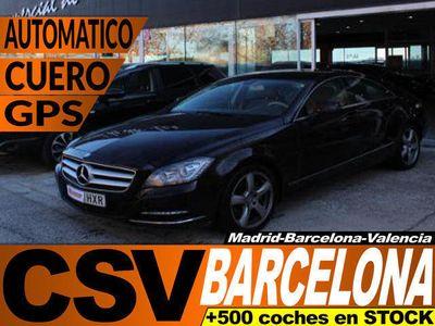 usado Mercedes CLS350 CDI 265CV **MÁS 8.000€ EN EXTRAS**