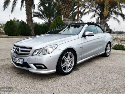 usado Mercedes E220 Clase E CabrioCDI BE Avantgarde