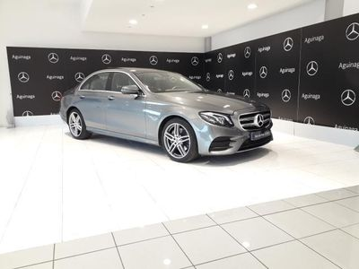 brugt Mercedes E220 9G-Tronic 194+TECHO+AMG+NAVEGADOR