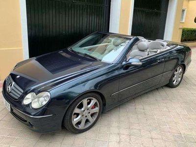 usado Mercedes CLK500 CLK ClaseCabrio