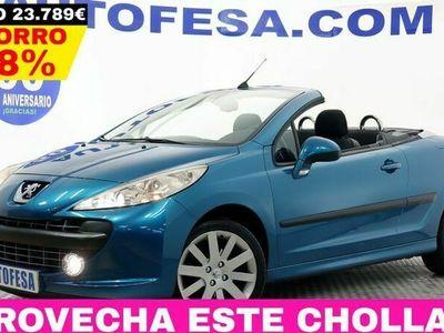 usado Peugeot 207 CC 1.6 Cabrio 120cv Sport 2p
