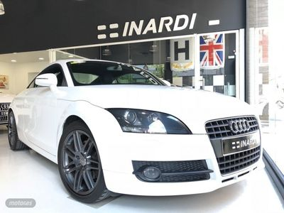 usado Audi TT 1.8 TFSI 160 cv Gasolina. Blanco Ibis, año 03/2009.