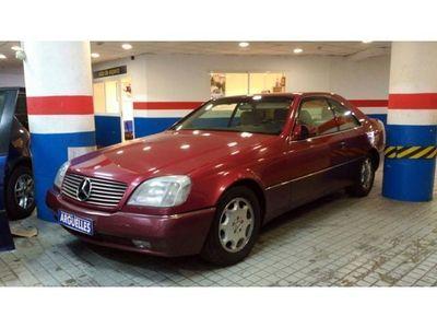 usado Mercedes 500 Clase S CLASECOUPE 320CV NACIONAL IMPECABLE