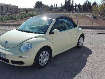 usado VW Beetle New1.6 Cabriolet