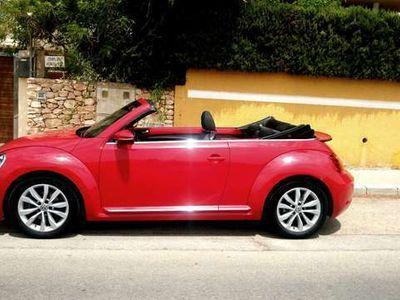 usado VW Beetle Cabrio 1.6TDI Design 105
