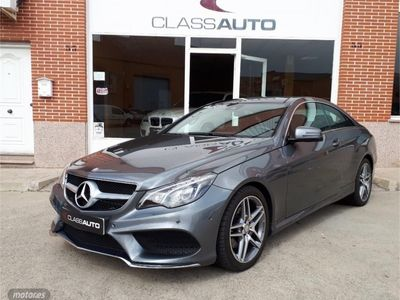 brugt Mercedes E350 Coupé d 9G-Tronic*AMG*TECHO*NAVEGADOR*