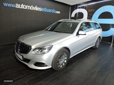usado Mercedes E220 Clase EBlueTEC Elegance Estate