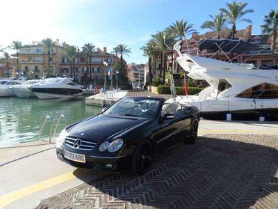 usado Mercedes CLK320 Cabrio 320CDI Avantgarde