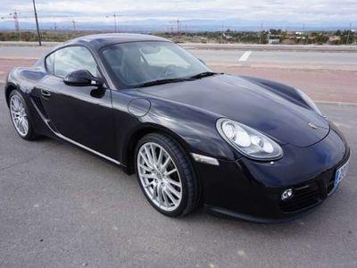 usado Porsche Cayman Restyling 2009, cambio PDK con levas en volante